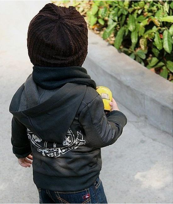 Двусторонние шапочки для деток до 3х лет