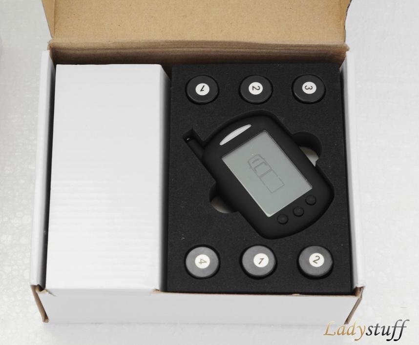 Открытая коробка с системой контроля давления и температуры для грузовых автомобилей и автобусов.