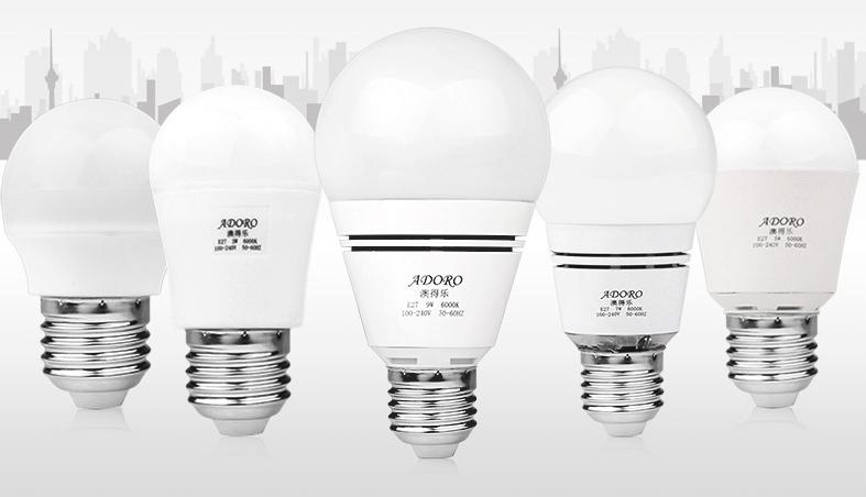 Светодиодные лампы Adoro с Taobao